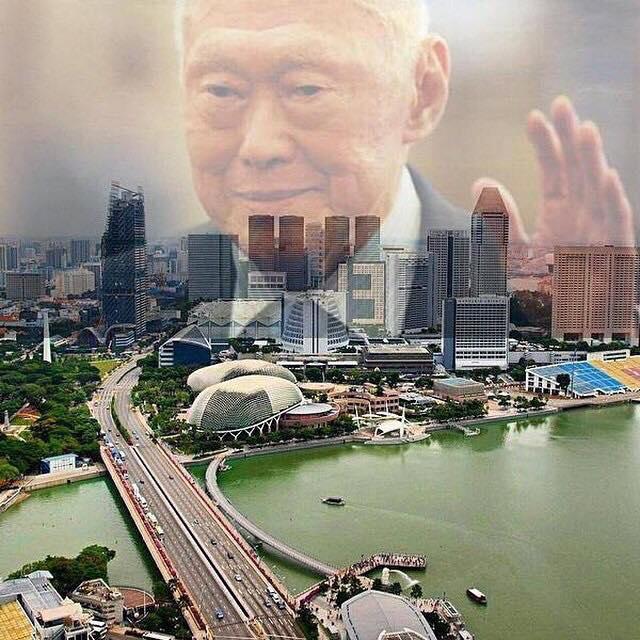 LKY over SG